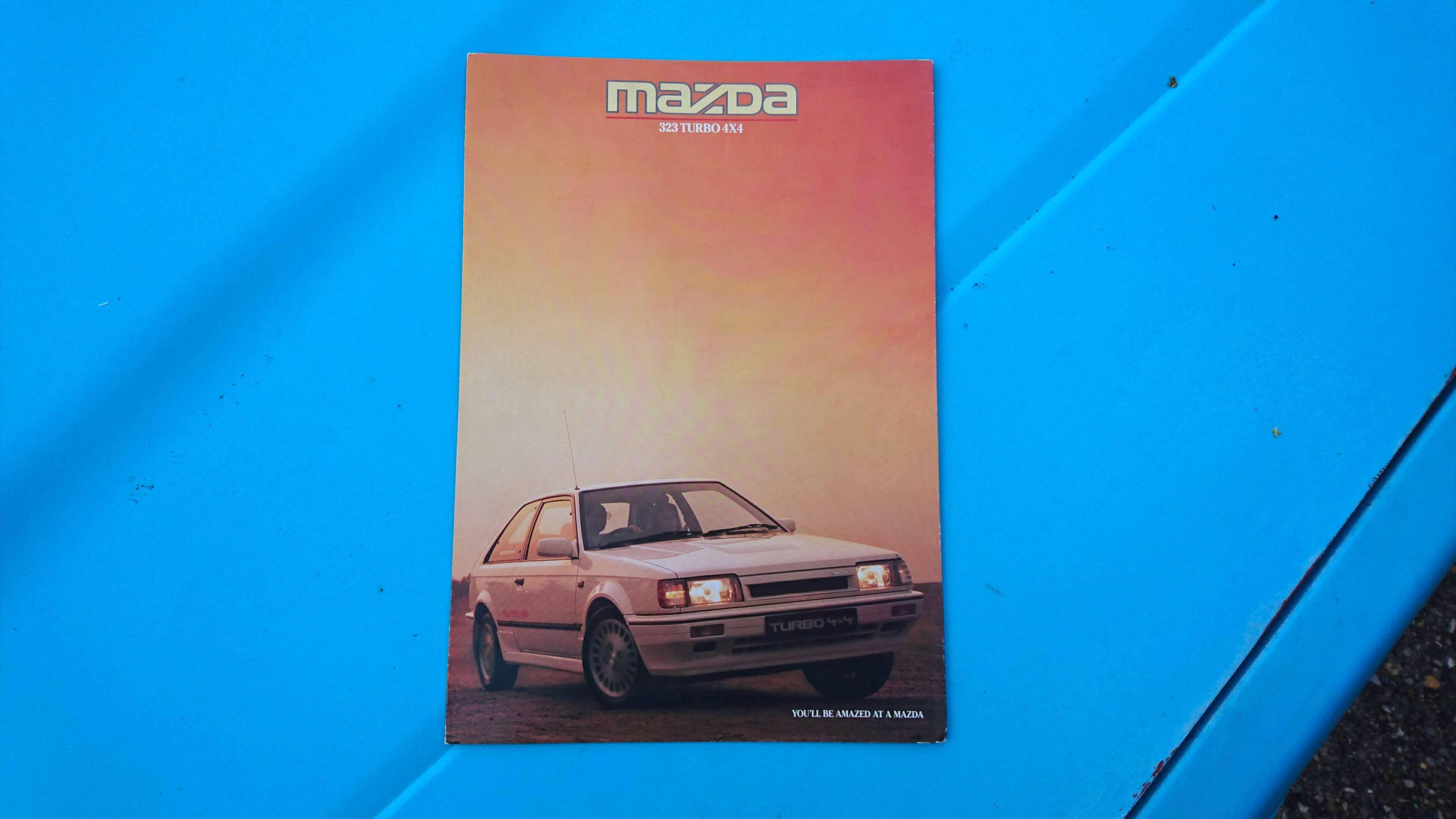 Mazda 323 GTX brochure