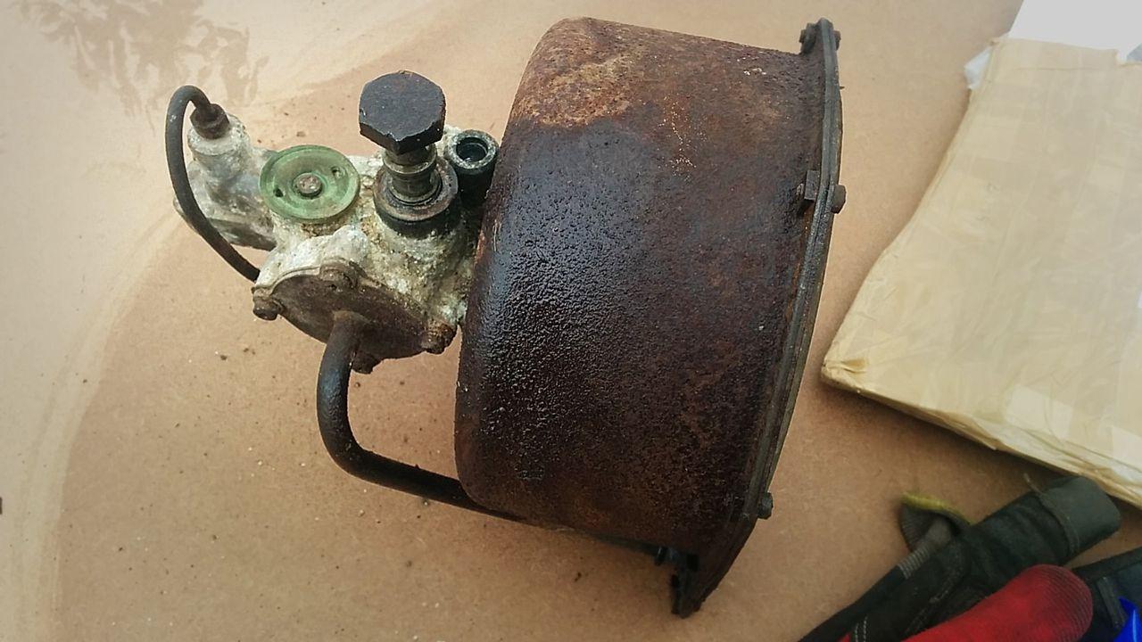 A Rover P5 3 Litre brake servo