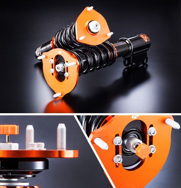 Photo of K-Sport suspension at various angles