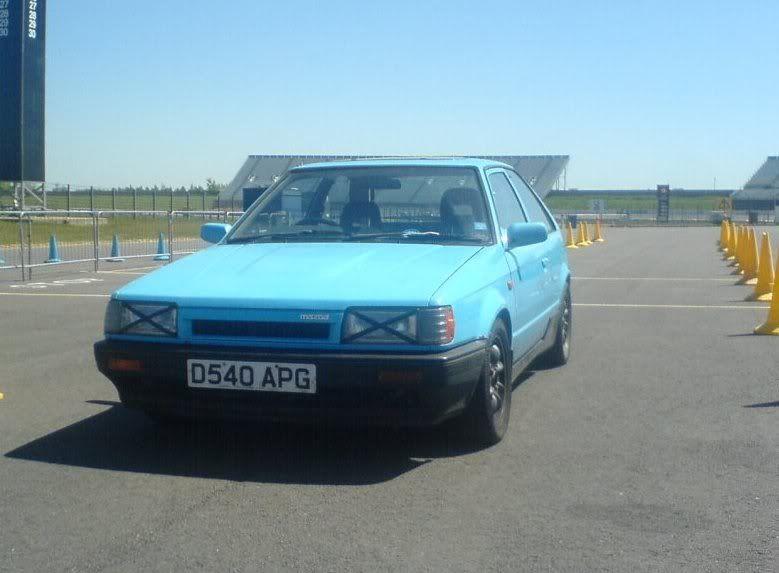 My Mazda at Rockingham in 2007